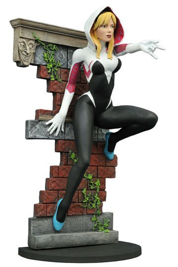 Diamond Select - Marvel Gallery - Spider-Gwen Unmasked SDCC 2016