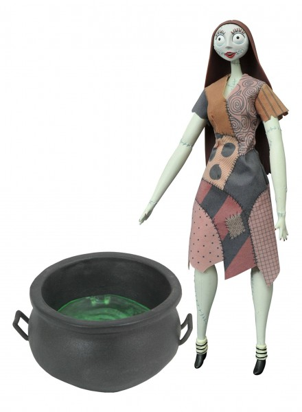 Diamond Select Disney - Nightmare before Christmas Puppe Cauldron Sally Deluxe Coffin Doll (36cm)
