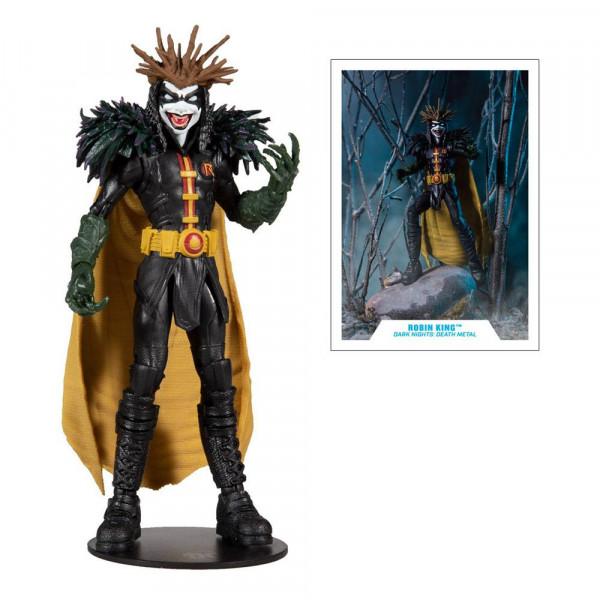 McFarlane - DC Multiverse Build A Actionfigur - DC Death Metal: Robin King