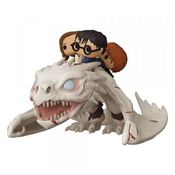 Funko POP! Harry Potter - Dragon w/Harry, Ron und Hermine