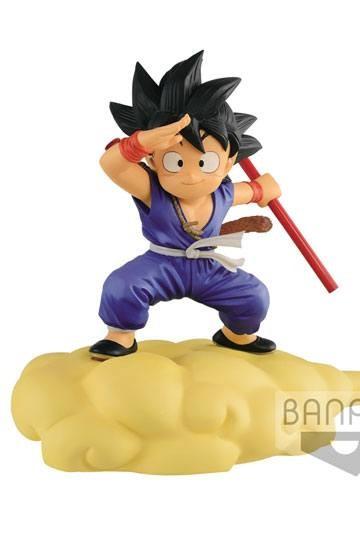 Banpresto - Dragonball Kintoun Figur Son Goku auf Jindujun Special Color Ver. (13cm)