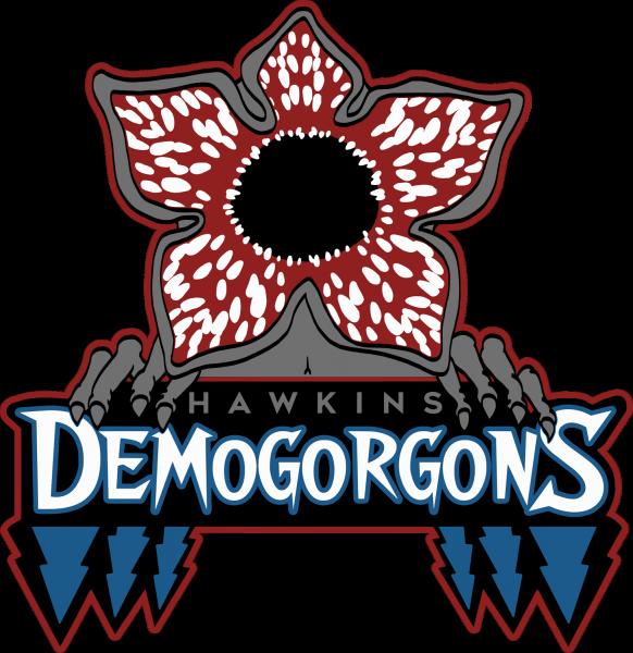 Lootgear - Horror Teams: Hawkins Demogorgons T-Shirt