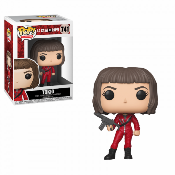 Funko POP! TV - Money Heist: Tokio (Chase möglich!)