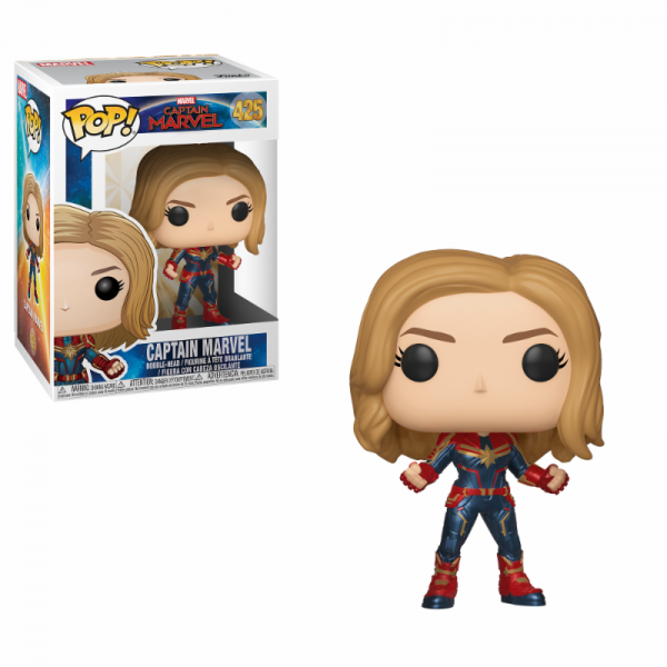 Funko POP! Marvel - Captain Marvel: Captain Marvel (Chase möglich!)