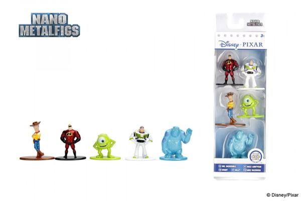 Jada Toys - Nano Metalfigs: Disney/Pixar 5-Pack