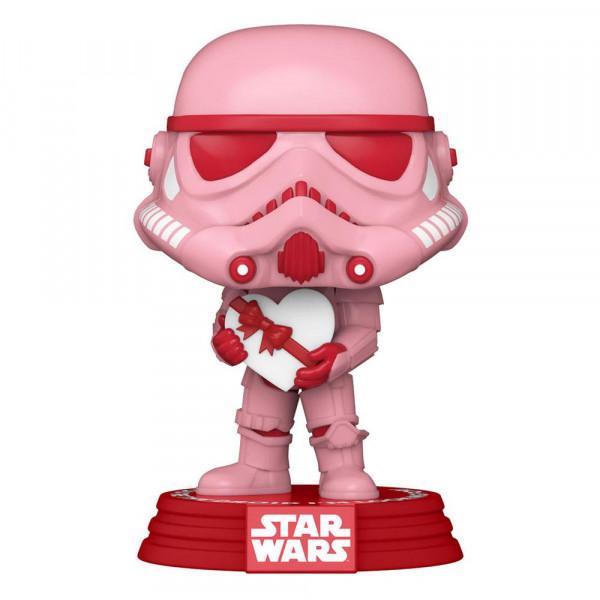 Funko POP! Star Wars - Valentines: Stormtrooper w/Heart