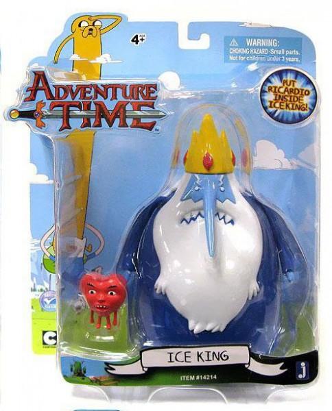Jazwares - Adventure Time: Ice King & Ricardio (12 cm)
