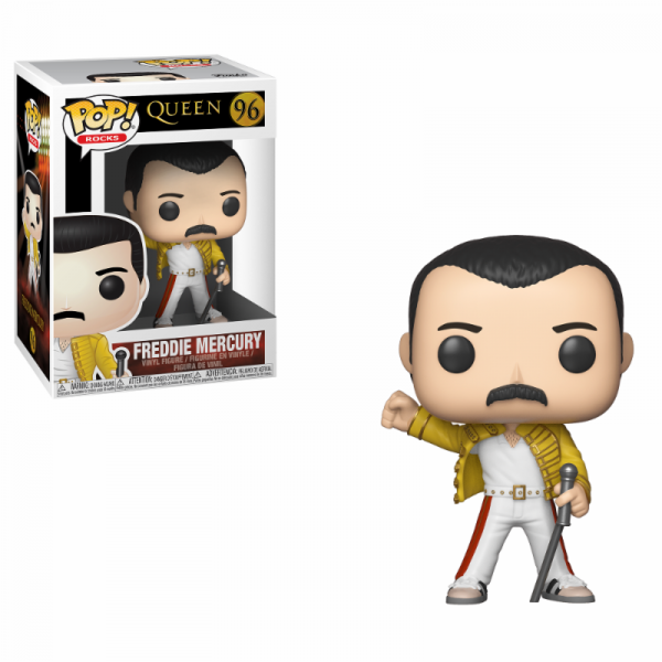 Funko POP! Rocks - Queen: Freddie Mercury Wembley 1986