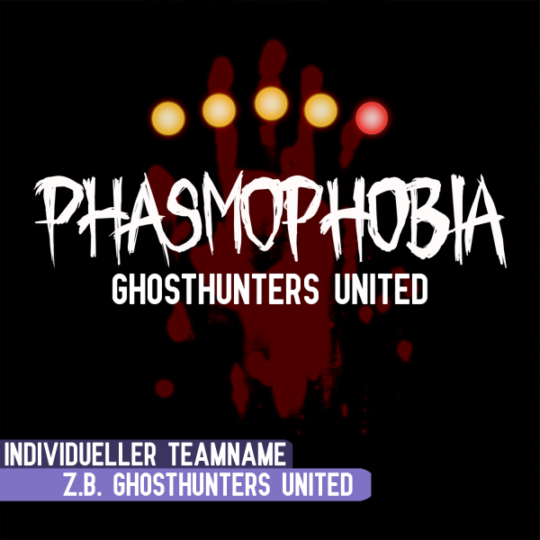 Lootgear - Gamer World: Phasmophobia Team T-Shirt