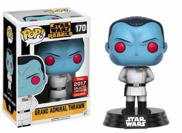 Funko POP! Star Wars - Celebration: Grand Admiral Thrawn