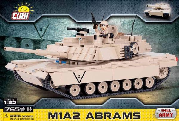COBI - M1A2 Abrams 765 Teile Bausatz