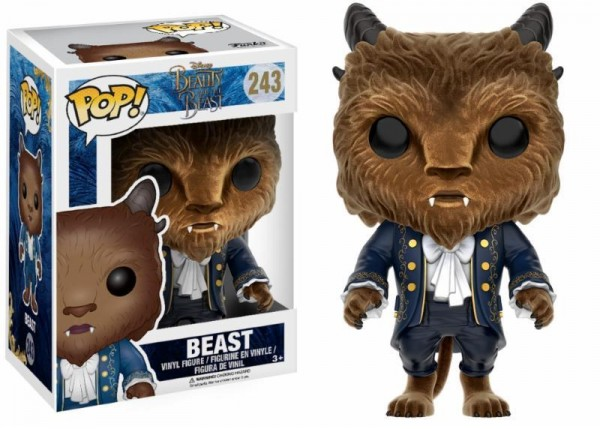 Funko POP! Disney - Beauty And The Beast: Flocked Beast