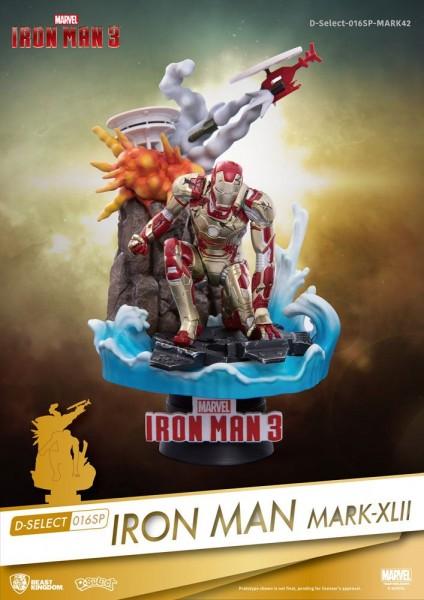 Beast Kingdom Toys - Marvel: Iron Man Mark XLII Diorama