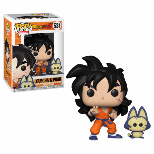 Funko POP! Animation - Dragonball S5: Yamcha & Puar