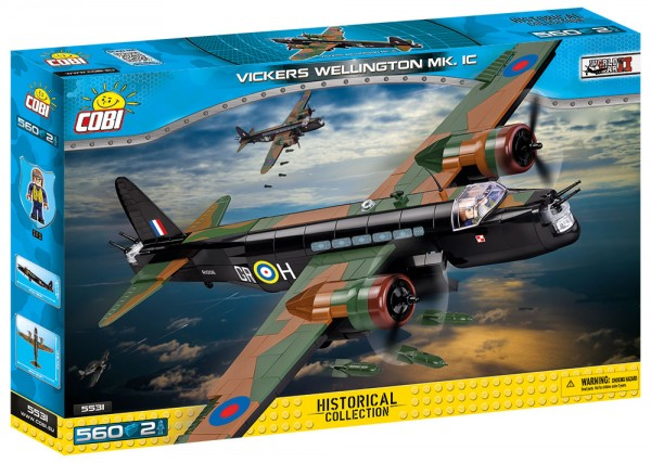 Cobi - 560 Teile SMALL ARMY 5531 VICKERS WELLINGTON