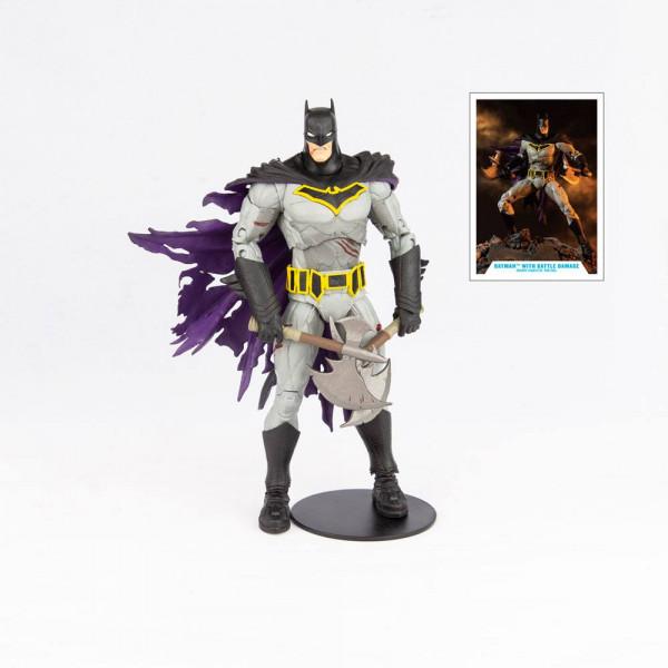 McFarlane - DC Multiverse Actionfigur: Batman with Battle Damage (Dark Nights: Metal)