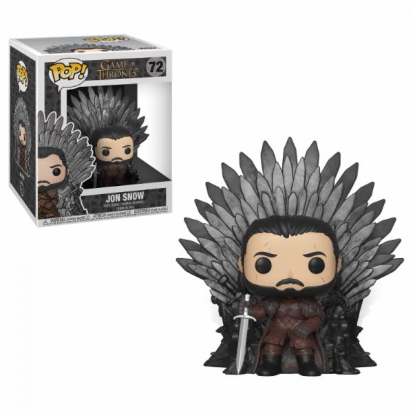 Funko POP! Game of Thrones: Jon Snow on Iron Throne