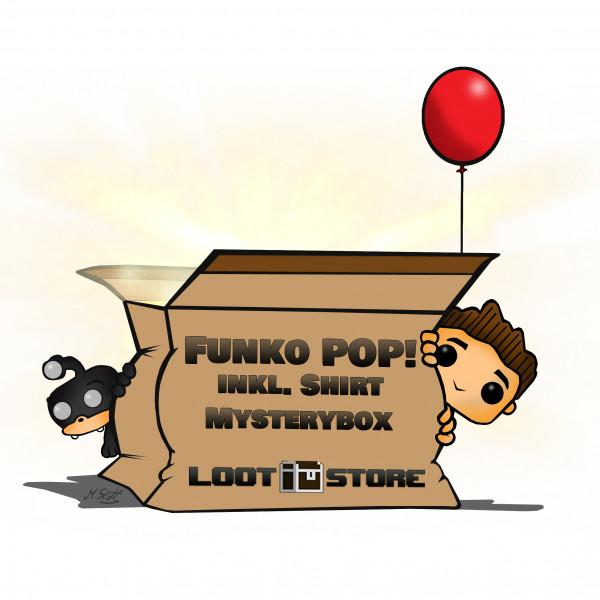 Funko Pop 'n Shirt Mystery Box - Premium