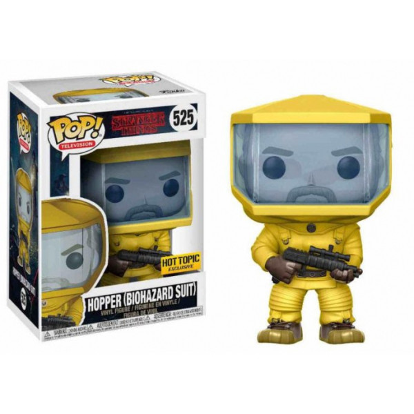 Funko POP! TV - Stranger Things: Hopper in Biohazard Suit