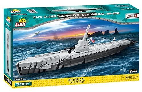 COBI - Gato Class Submarine USS Wahoo/SS-238 700 Teile Bausatz