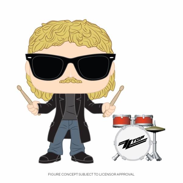 Funko POP! Rocks - ZZ Top: Frank Beard