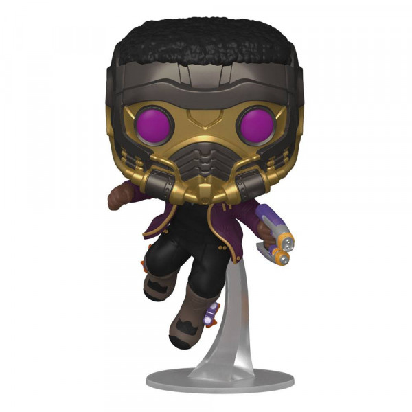 Funko POP! Marvel - What if...?: T'Challa Star-Lord