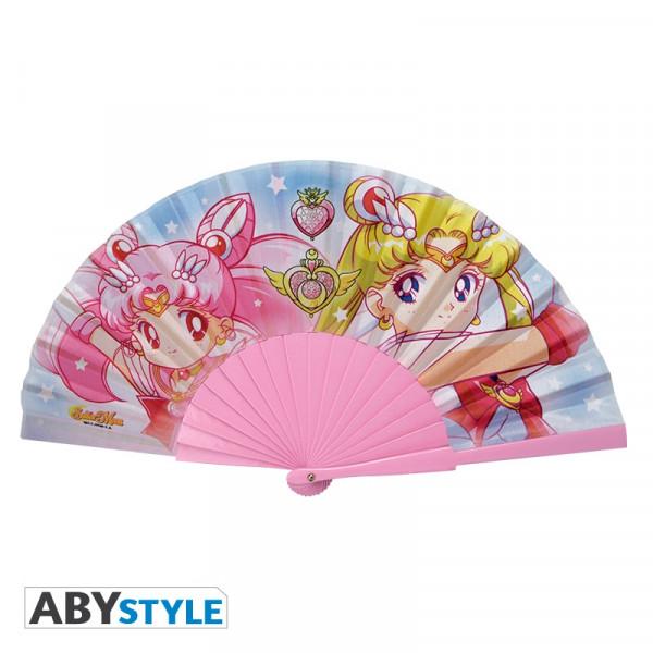 ABYstyle - Sailor Moon: Sailor Moon & Chibi Moon Fächer