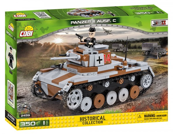 Cobi - 350 Teile SMALL ARMY 2459 PANZER II AUSF. C