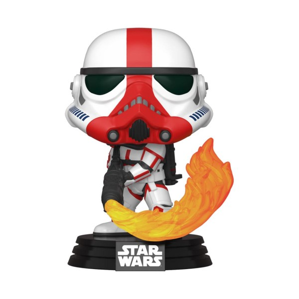 Funko POP! Star Wars - The Mandalorian: Incinerator Stormtrooper