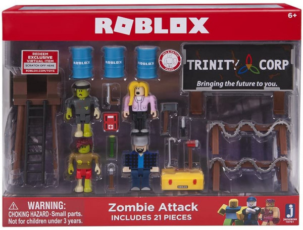 Roblox - Zombie Attack Spielset 21 Teile