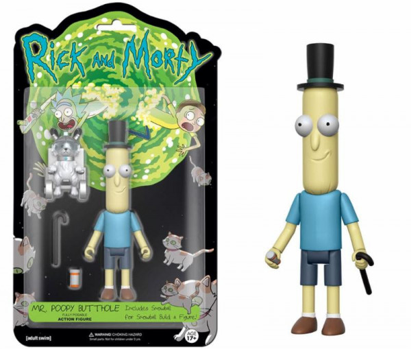 Funko Action Figure - Rick and Morty: Mr. Kackapopoloch