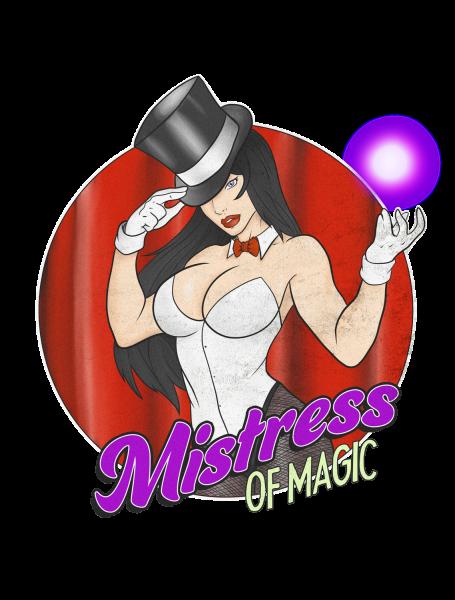 Lootgear - Cartoon World: Mistress of Magic T-Shirt