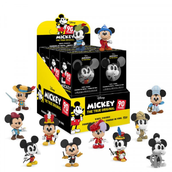Funko Mystery Minis - Disney's Mickey Maus 90th Anniversary: Figur Wählen