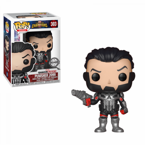 Funko POP! Marvel Contest of Champions: Punisher 2099