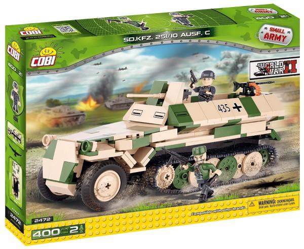Cobi - 460 Teile SMALL ARMY 2472 SD.KFZ. 25110 AUSF. C