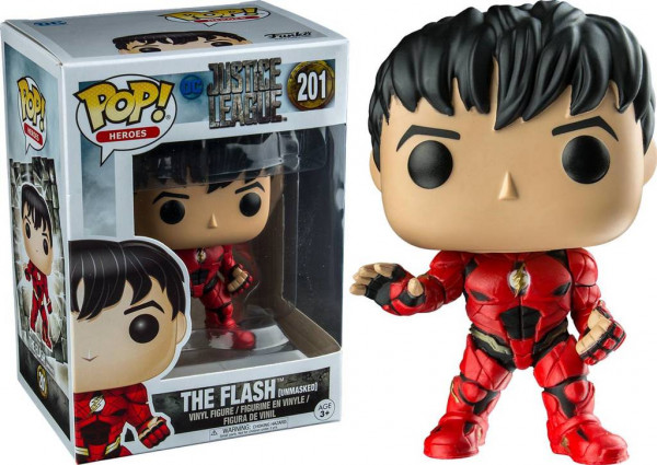 Funko POP! Heroes - Justice League: The Flash Unmasked