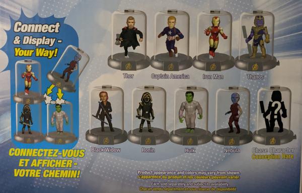 Zag Toys - Domez - Marvel's Avengers: Figur Wählen