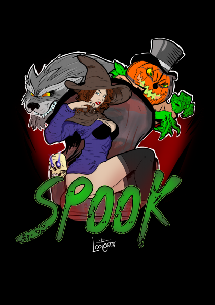 Lootgear - Spook: The Witch and her Slaves T-Shirt