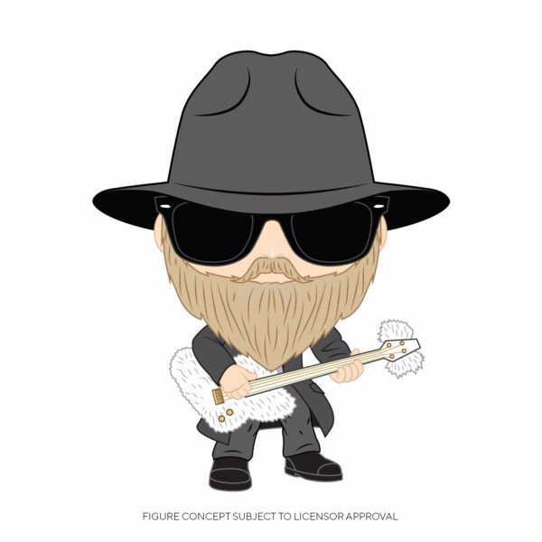 Funko POP! Rocks - ZZ Top: Dusty Hill