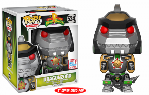 Funko NYCC - Power Rangers: Green Dragonzord Oversized