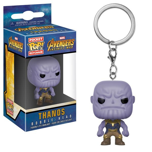 Funko POP! Keychain - Avengers: Infinity War: Thanos