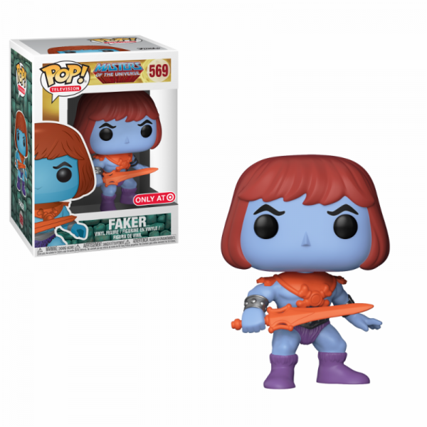Funko POP! TV - Masters of the Universe: Faker