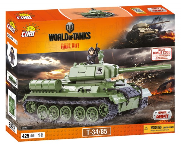 Cobi - 500 Teile SMALL ARMY 3005 WOT T3485