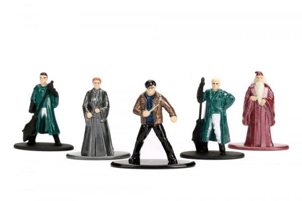 Jada Toys - Nano Metalfigs - Harry Potter Diecast Minifiguren 5er-Pack Wave 2