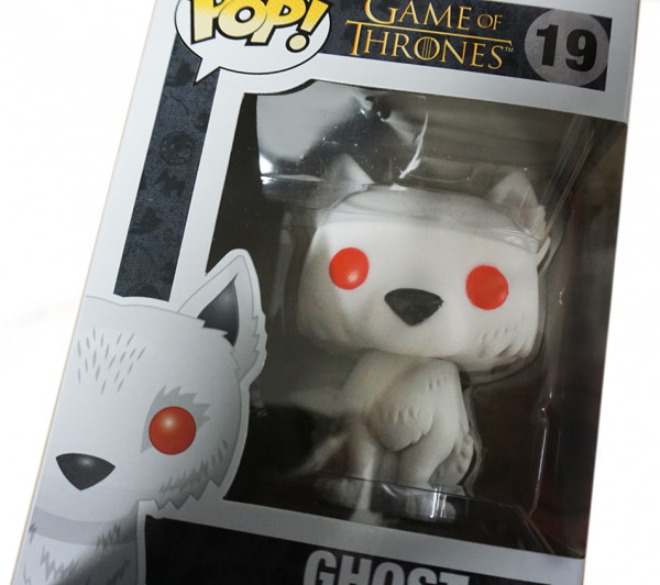 Funko POP! Game of Thrones: Ghost Flocked SDCC (Kein Sticker!)