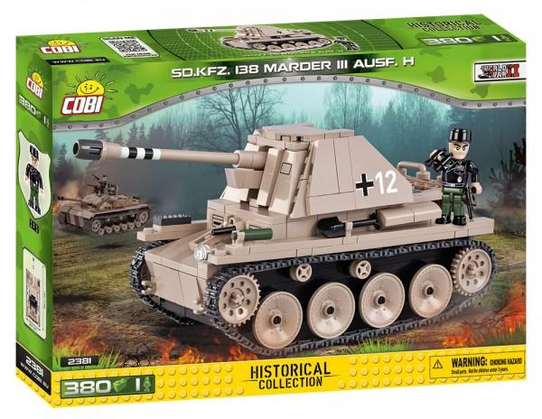 Cobi - 380 Teile SMALL ARMY 2381 SD.KFZ. 138 MARDER III