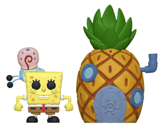 Funko TOWN! Animation - Spongebob: Spongebob w/ Pineapple