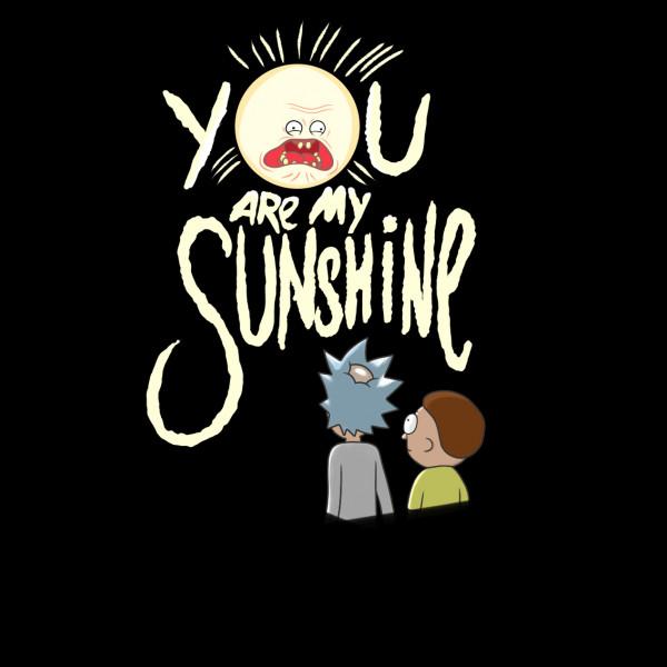 Lootgear - Cartoon World: You are my Sunshine T-Shirt