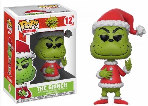 Funko POP! Books - Dr. Seuss: The Grinch