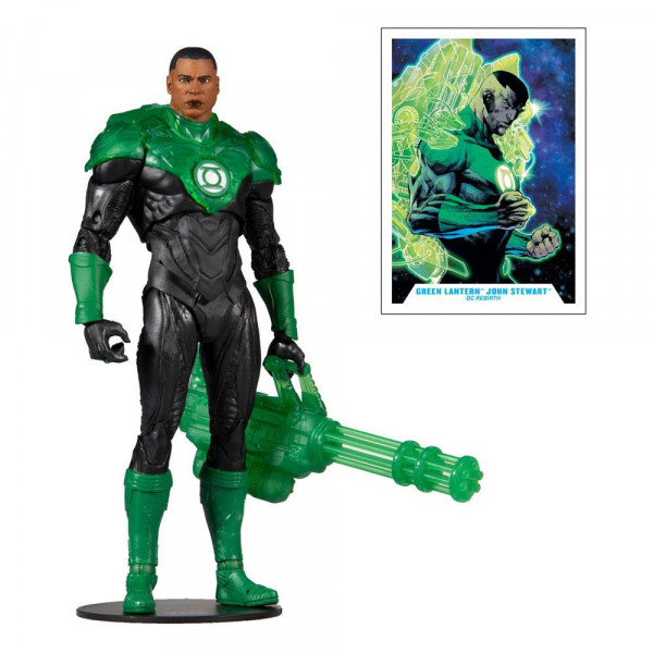 McFarlane - DC Multiverse Actionfigur: Modern Comic Green Lantern (John Stewart)